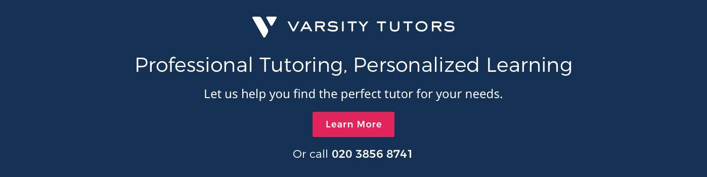 Contact Varsity Tutors